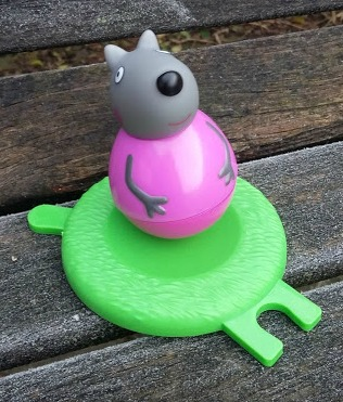 Peppa Pig Weebles Wind and Wobble Playhouse  Wendy Wolf Series 2