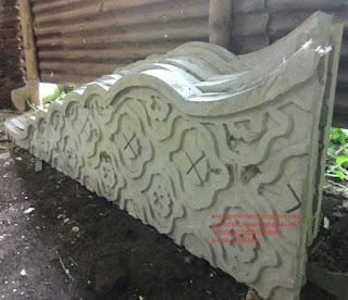 ornamen relief GRC motif India Rajastani