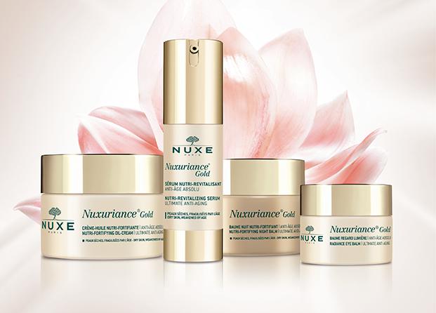 Nuxe recurre a la Neurociencia para su nueva gama facial Nuxuriance Gold