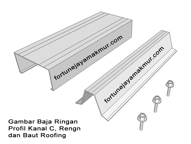 Gambar Baja Ringan Kanal C Tb Fortune Jaya Makmur Distributor Dan Genteng