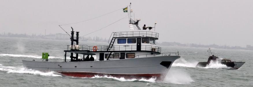 Морська охорона замовила доковий ремонт шхуни Онікс