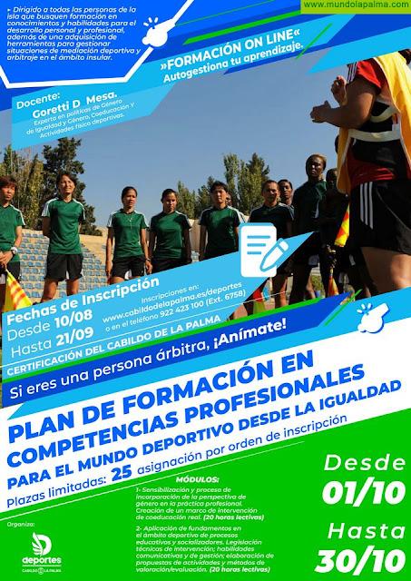 El Cabildo promueve unas jornadas de igualdad y mediación en el deporte