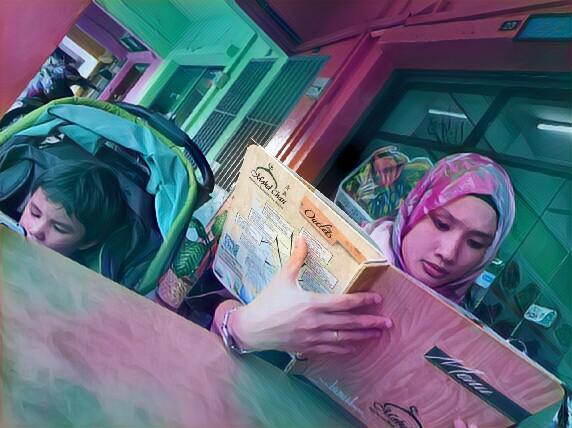 Cuba Masakan Kam Heong di Mohd Chan Restaurant, Setia Alam