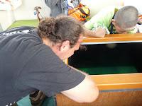 尖閣湾揚島遊園の海中透視船