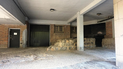 Restos de muralla de Madrid