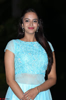 Pujita Ponnada in transparent sky blue dress at Darshakudu pre release ~  Exclusive Celebrities Galleries 100.JPG