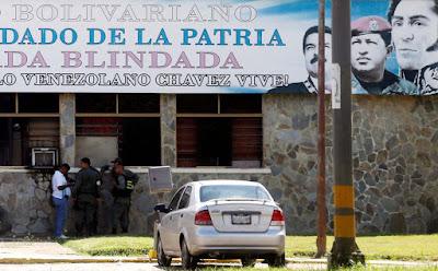 Tras el robo de armas a la 41 Brigada Blindada del Ejército en Valencia, los allanamientos y las detenciones por parte de los in-efectivos de seguridad del Estado no cesan.  En efecto, según lo reseñado por El Carabobeño,  la tarde de este martes funcionarios de la Brigada anti-terrorismo del Servicio Bolivariano de Inteligencia Nacional (Sebin) detuvieron al presidente de la Federación de Trabajadores de Carabobo (Fetracarabobo) Omar Escalante, en La Isabelica.  En ese sentido, se precisó que se trató de un procedimiento ilegal pues el mismo se practicó sin orden judicial.  Asimismo se conoció que los allanamientos en dicha urbanización fueron puntuales: buscaban la residencia de Escalante, quien mantiene amistad con el general de brigada retirado y ex comandante de la 41 Brigada Blindada, Guillermo Rangel.