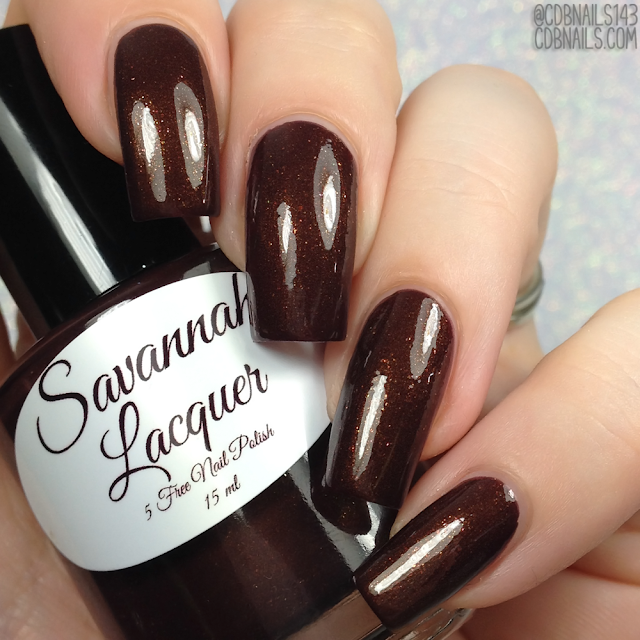 Savannah Lacquer-When The Voices Take Over