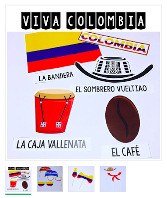 Resources for Teaching about Colombia to Elementary Spanish Class