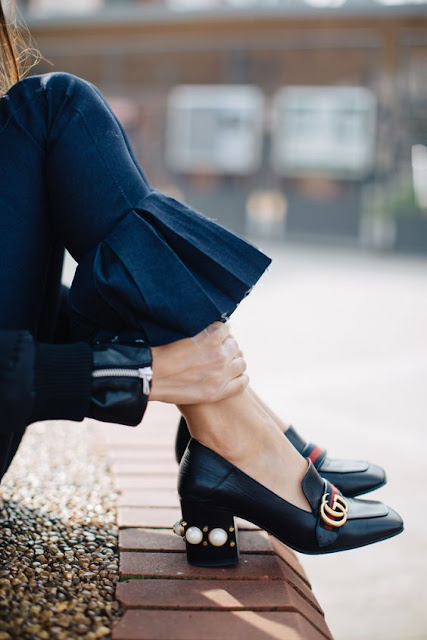 heeled loafers street style how to wear heeled loafers heeled loafers winter 2017 shoes fashion moda tendenze inverno 2017 fashion blog italiani fashion bloggers italy