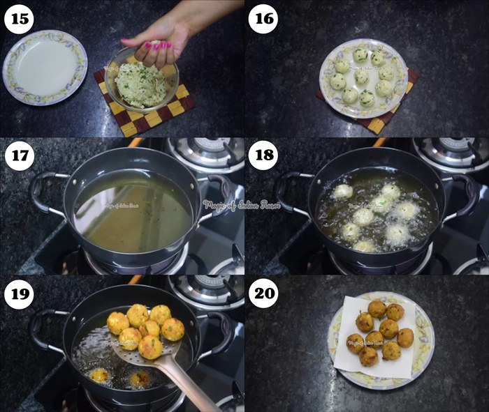 Paneer & Banana Balls Fasting Recipe - कच्चे केले और पनीर के वड़े - नवरात्री व्रत की रेसिपी - Priya R - Magic of Indian Rasoi