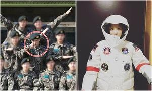 Sao Hàn 2/3: T.O.P đi đâu cũng khác người, Tae Yeon lộ nửa mặt vẫn cute