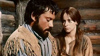 Jean (Oliver Reed) and Eve (Rita Tushingham) in The Trap (1966)