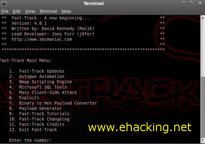 Fast track hacking-backtrack5 tutorial the world of it & cyber.