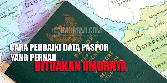Pernah Tuakan Umur Saat Jadi TKI, Begini Susahnya Memperbaiki Paspor yang Salah Umur