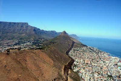 passeios de helicóptero na Cidade do Cabo