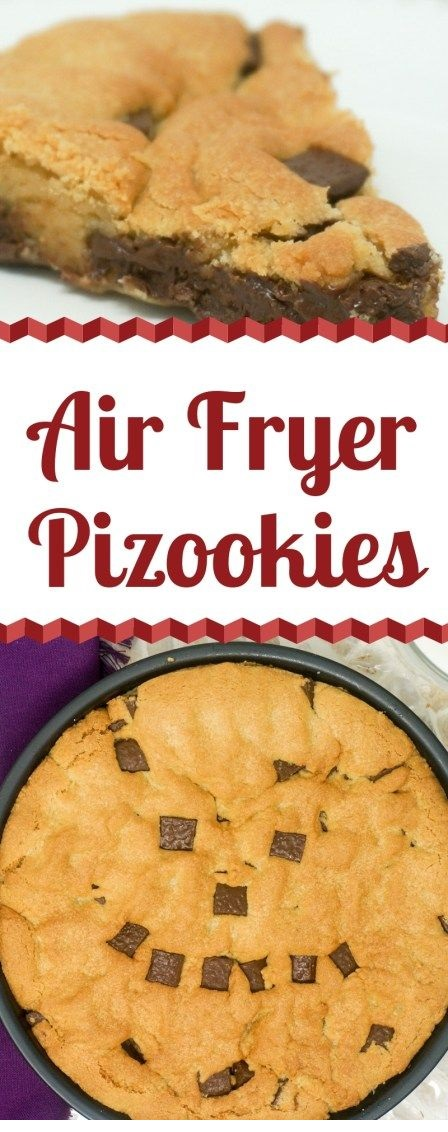 Air Fryer Chocolate Chip Cookie