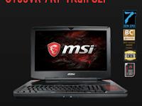 MSI GT83VR 7RF Titan SLI Drivers for Windows 10 64bit