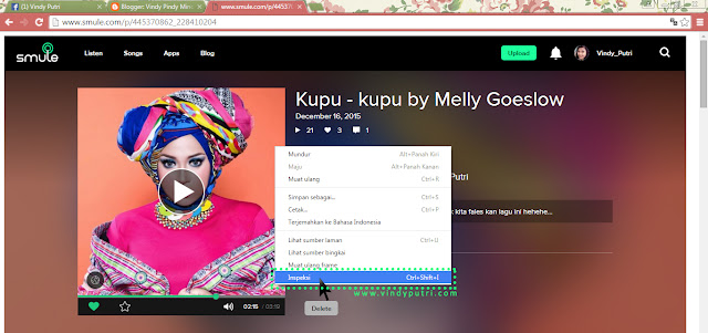 Tips Download dari SMULE ke .mp3