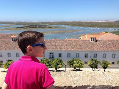 Casco antiguo Faro vista desde la catedral