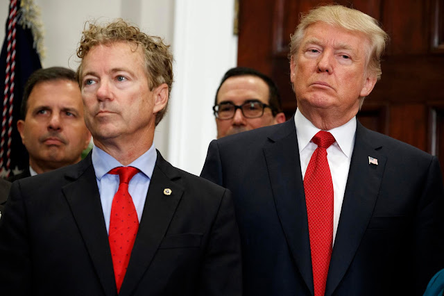 Rand Paul Says He'll Vote Against Trump's Border Emergency .