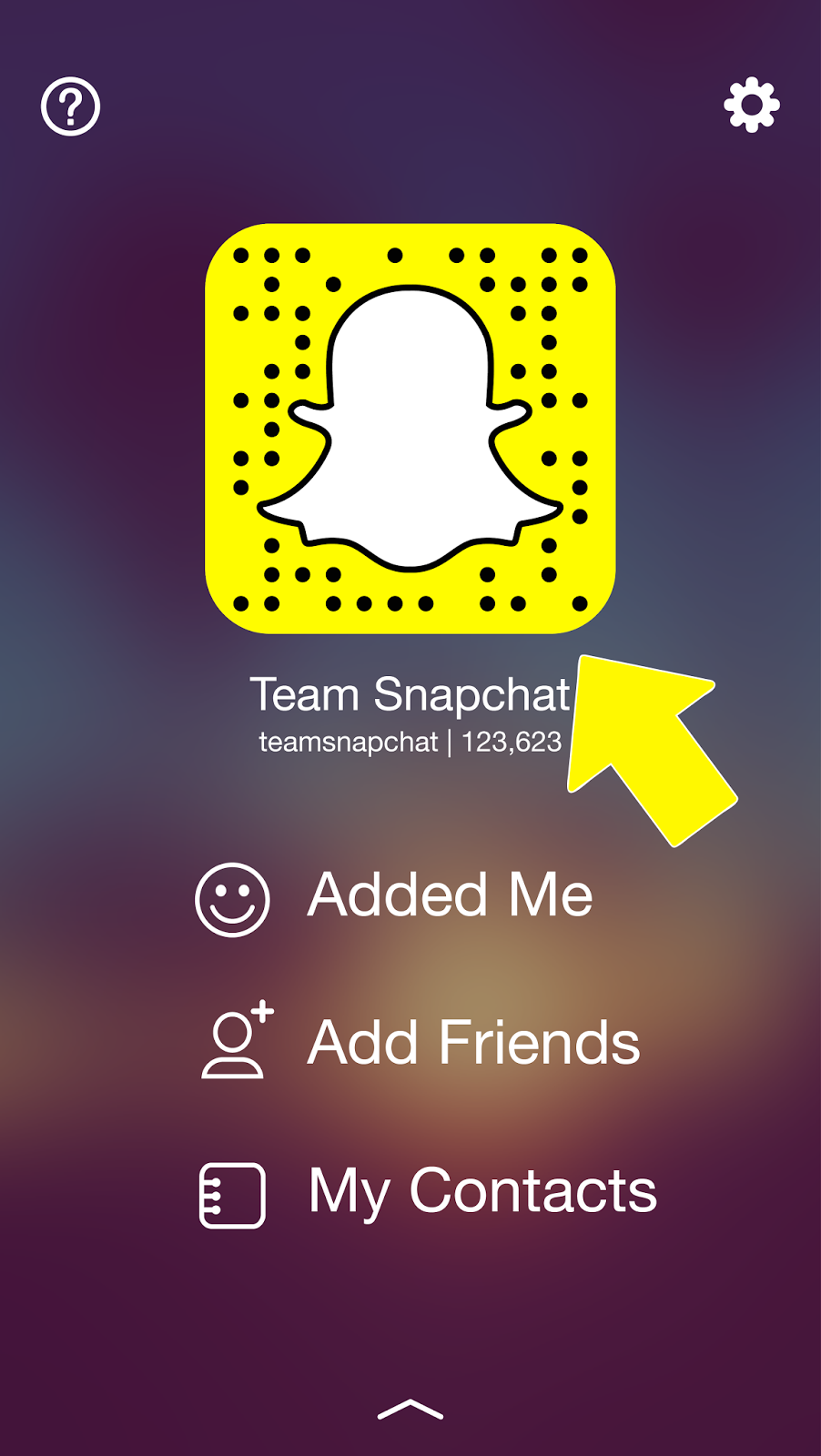 Snap to Add de Snapchat