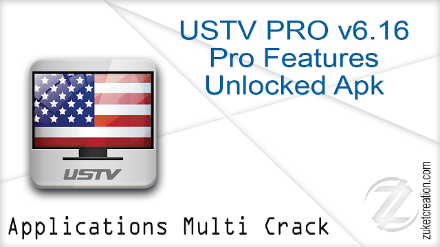 USTV PRO v6.16 Pro Features Unlocked Apk