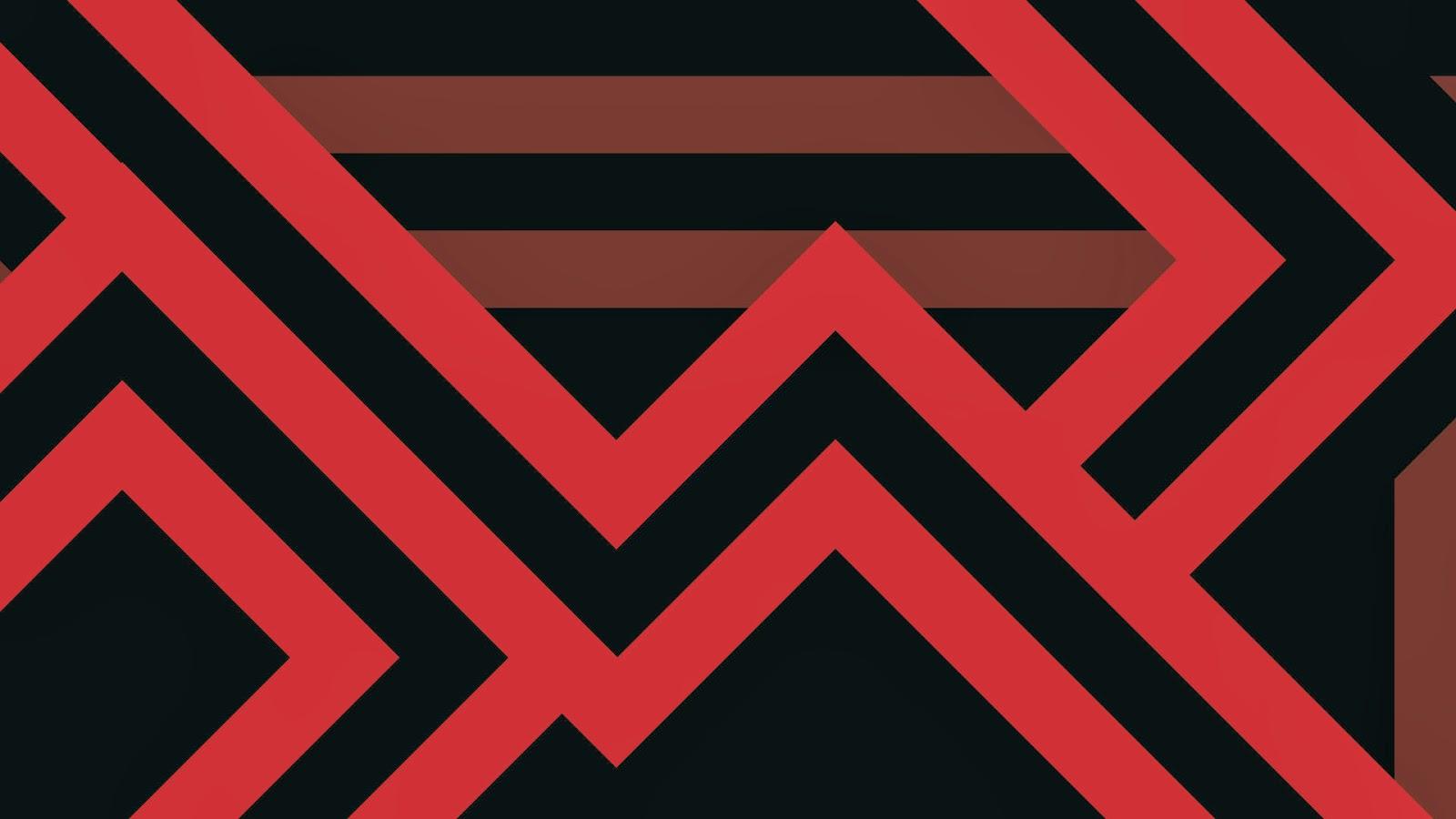 HD Wallpapers Gratis: Fondo De Pantalla Abstracto Lineas Rojas
