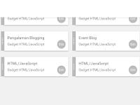 """Cara Membuat Widget """"Artikel Terbaru"""" di Bagian Sidebar Blog"""