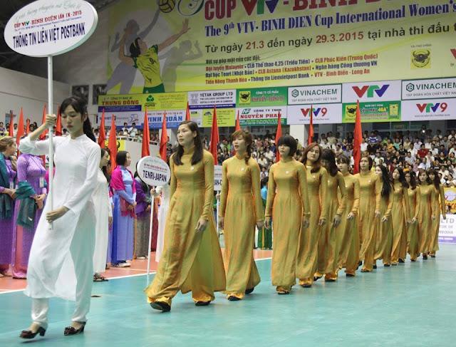 8 mẫu áo dài độc đáo ở cúp quốc tế nữ VTV9 - Bình Điền tại Quảng Nam