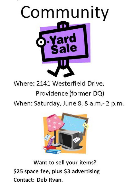 Community Yard Sale Event