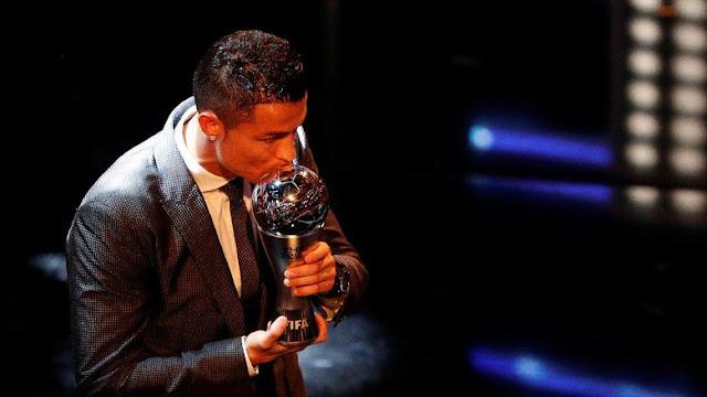 Pemain Terbaik Dunia 2017: Cristiano Ronaldo