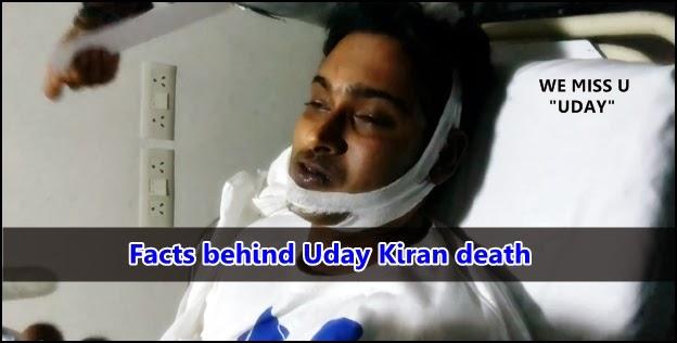 Reason behind Uday Kiran's Sudden DeathUday Kiran Death