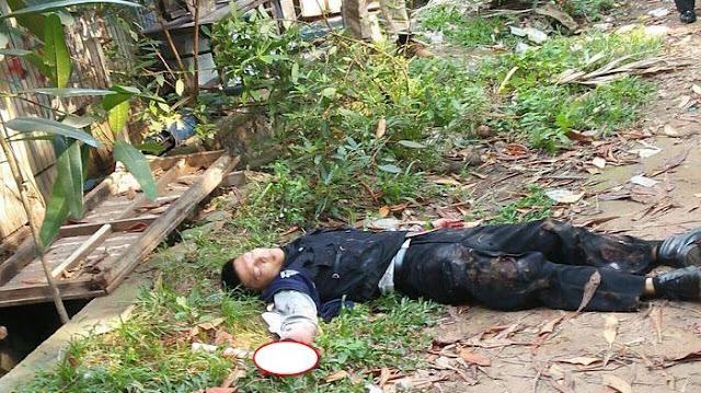 BREAKING NEWS! Penembak Polisi Tangerang, Tewas di Perjalanan Menuju Rumah Sakit