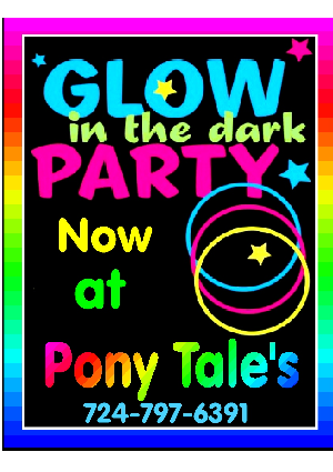 Glow in the dark partys