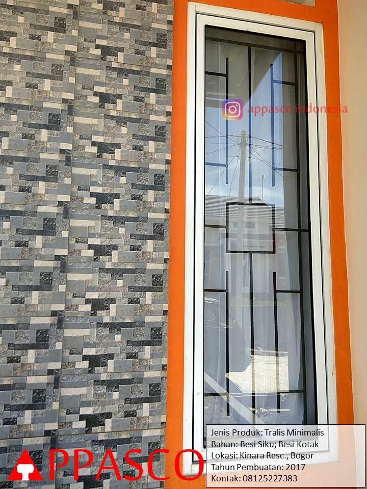 Teralis Jendela Aluminium di Kinara Residence Bogor