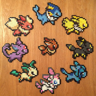 Pokemon Eevolution Hama Bead