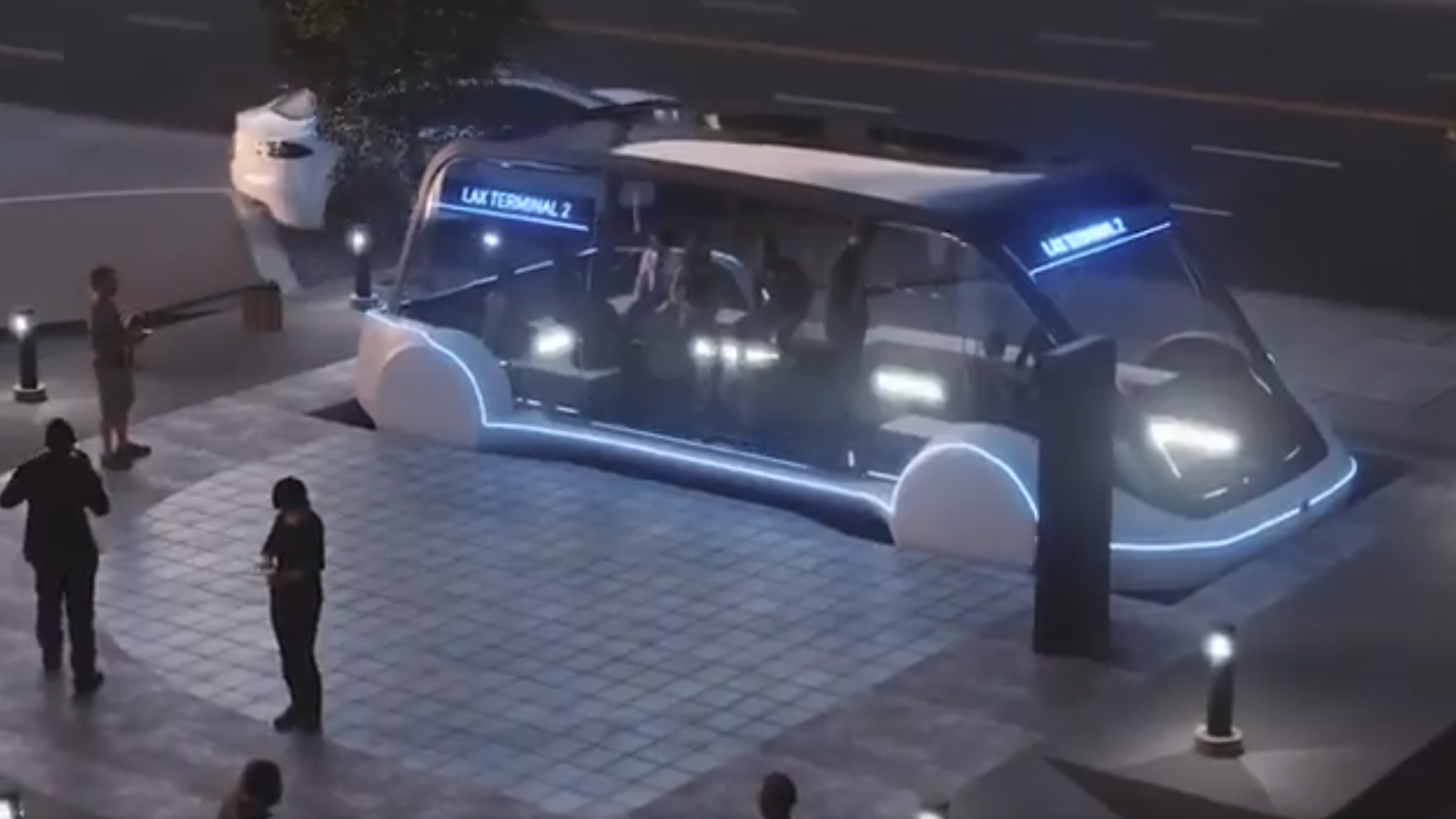 tunnel based Hyperloop mass transit