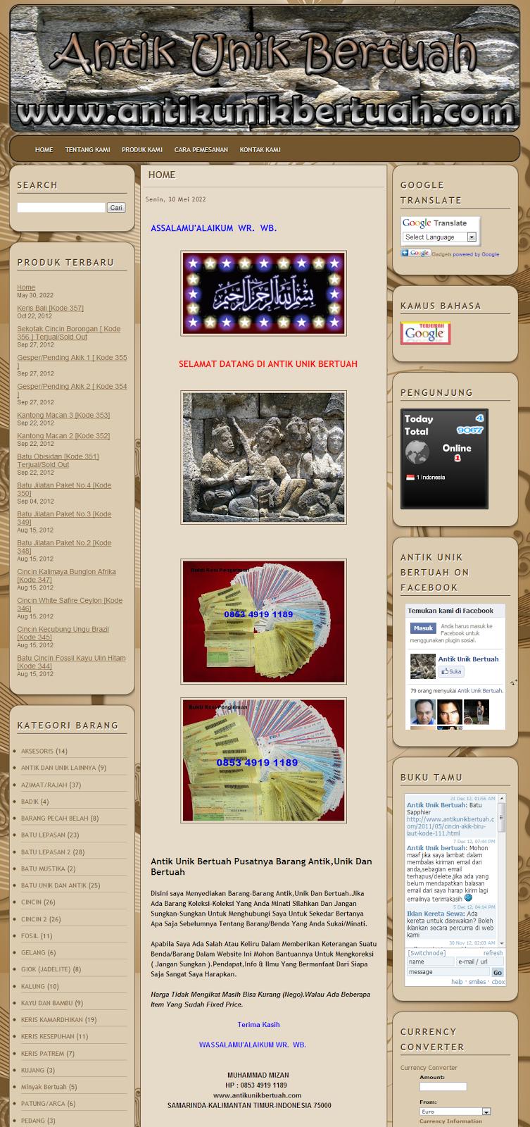 Blog Toko Online