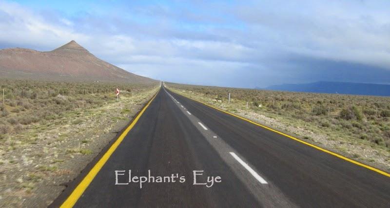 The road home thru the Hantam Karoo