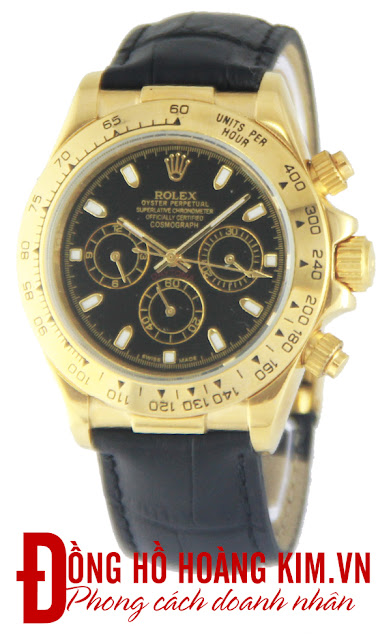 Đồng hồ rolex dây da R127