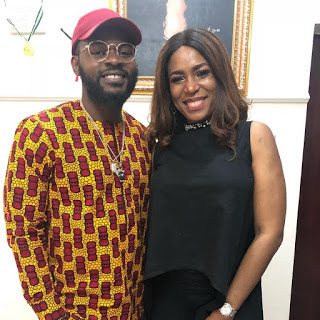 Falz and Linda Ikeji