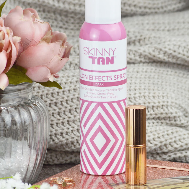 Skinny Tan's NEW Salon Effects Spray Review | Lovelaughslipstick Blog