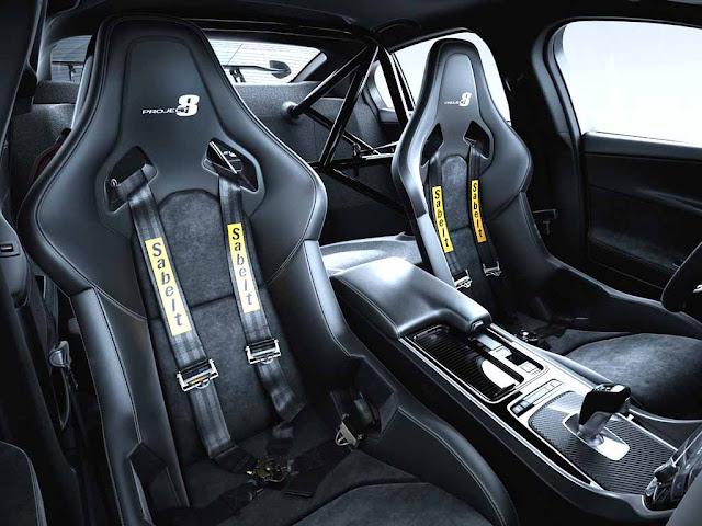 Jaguar XE SV Project 8 Interior