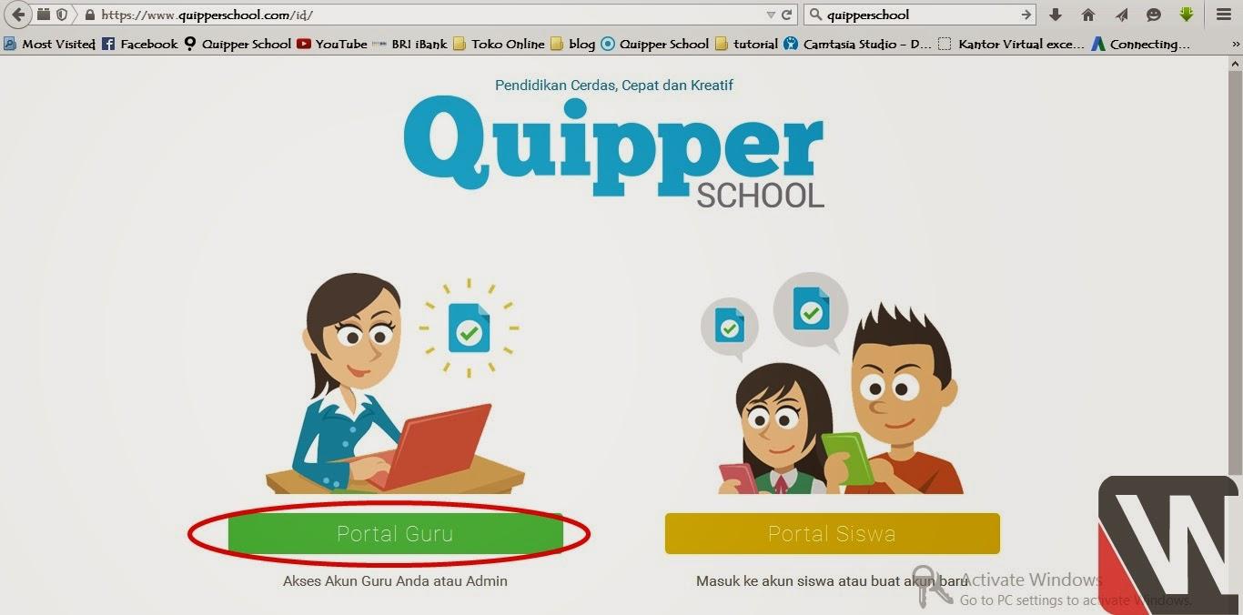 Cara Mudah Mendaftar Quipperschool