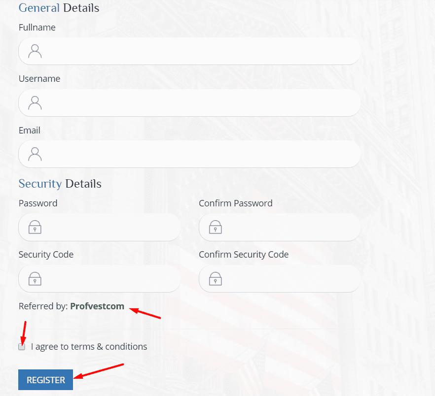 Регистрация в OxBit 2