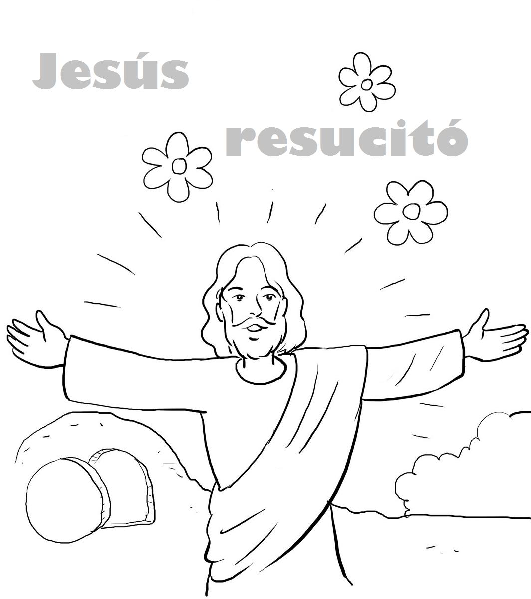 ME ABURRE LA RELIGIN: RESURRECCIN DE JESS.COLOREAR