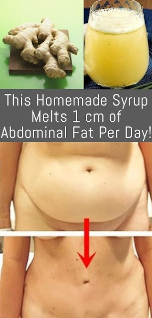 Incredible, This Homemade Syrup Melts 1 cm of Abdominal Fat Per Day!