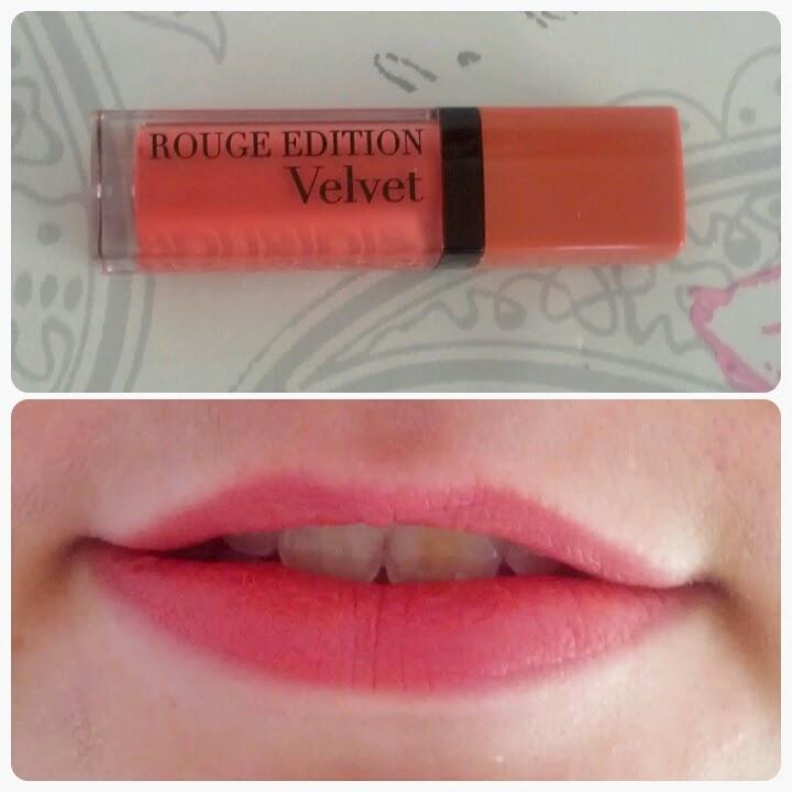 Test Beauté : Rouge Edition Velvet de Bourjois