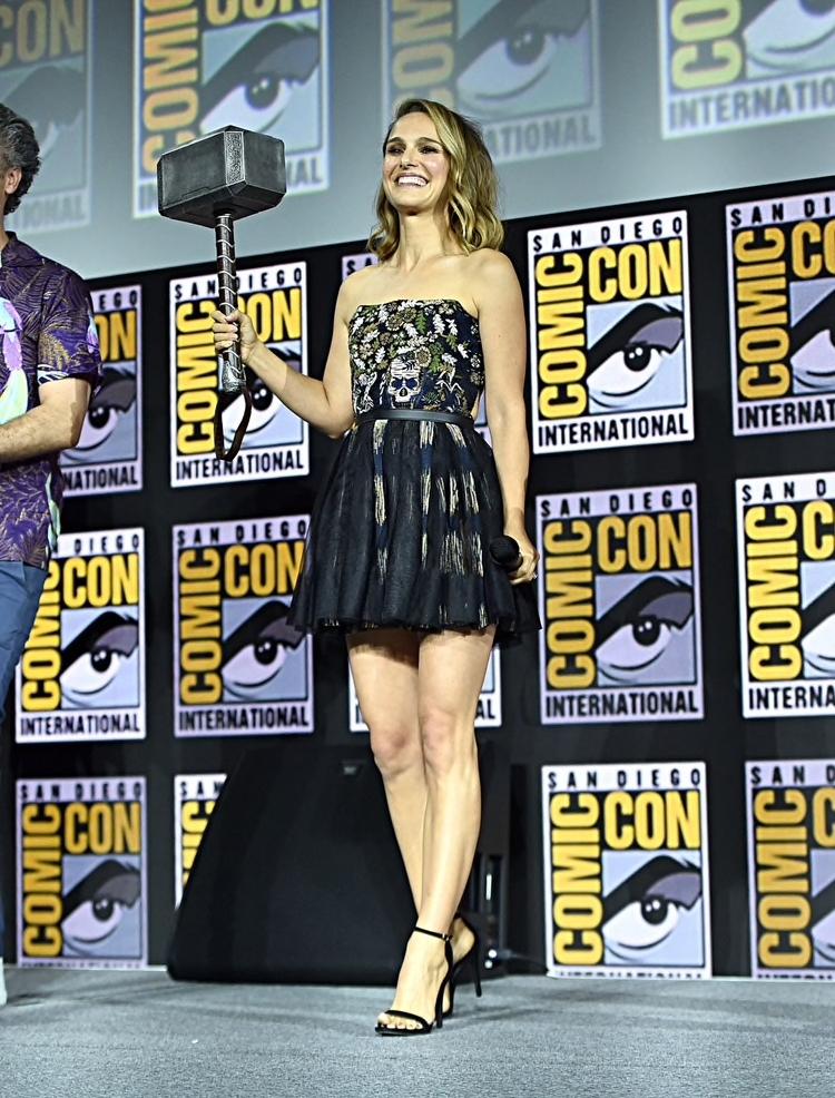 Natalie Portman será la versión femenina de Thor